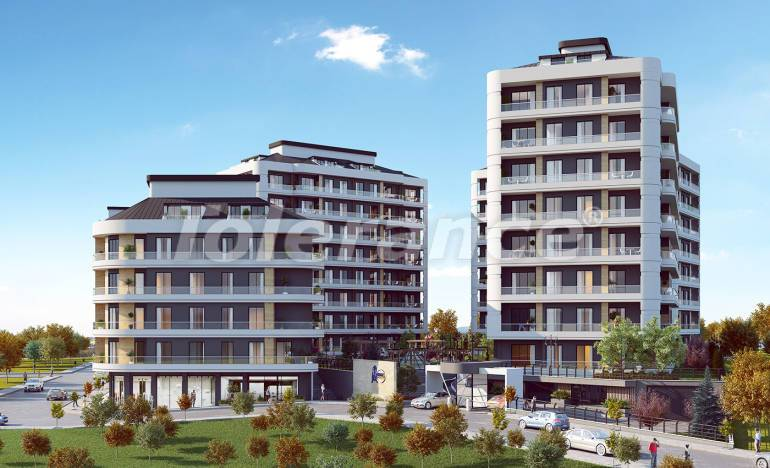 Luxury apartments in Avcilar, Istanbul in a complex with extensive facilities, and with lake views - 25869 | Tolerance Homes