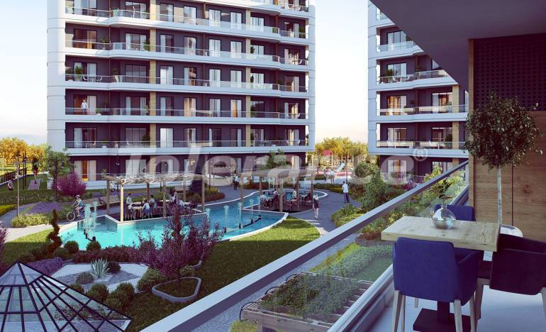 Luxury apartments in Avcilar, Istanbul in a complex with extensive facilities, and with lake views - 25870 | Tolerance Homes