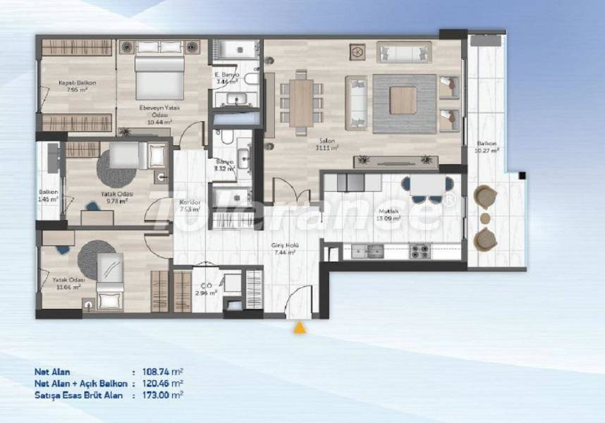 Comfortable apartments in Kucukcekmece, Istanbul from the developer - 27715 | Tolerance Homes