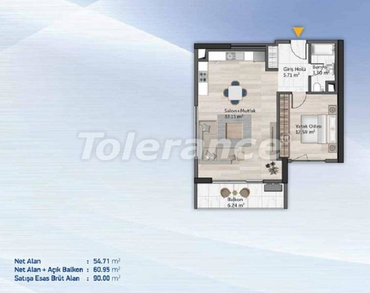 Comfortable apartments in Kucukcekmece, Istanbul from the developer - 27710 | Tolerance Homes