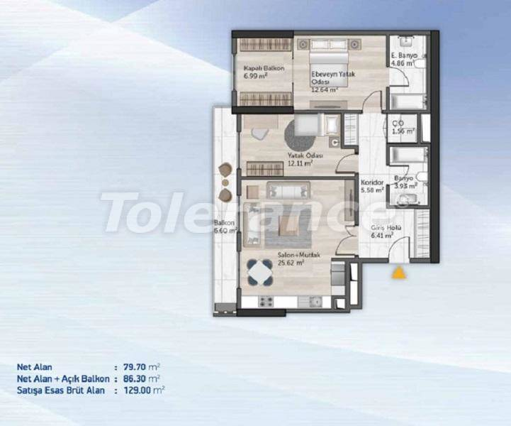 Spacious apartments in Kucukcekmece, Istanbul from the developer with installments - 27712   Tolerance Homes