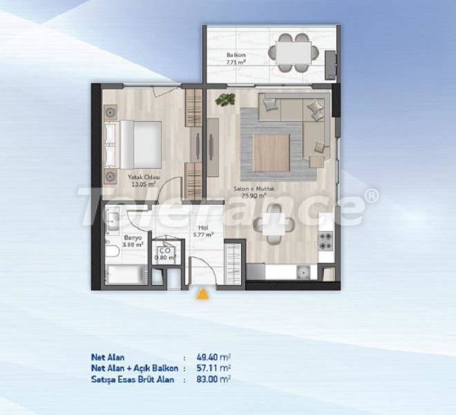 Spacious apartments in Kucukcekmece, Istanbul from the developer with installments - 27709   Tolerance Homes