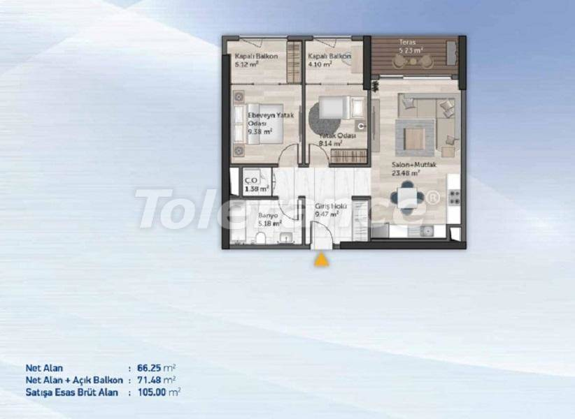 Spacious apartments in Kucukcekmece, Istanbul from the developer with installments - 27713   Tolerance Homes