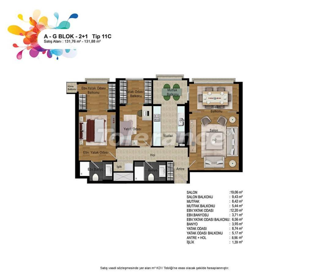 New apartments in Bahcesehir, Istanbul with installments up to 50 months - 36163   Tolerance Homes