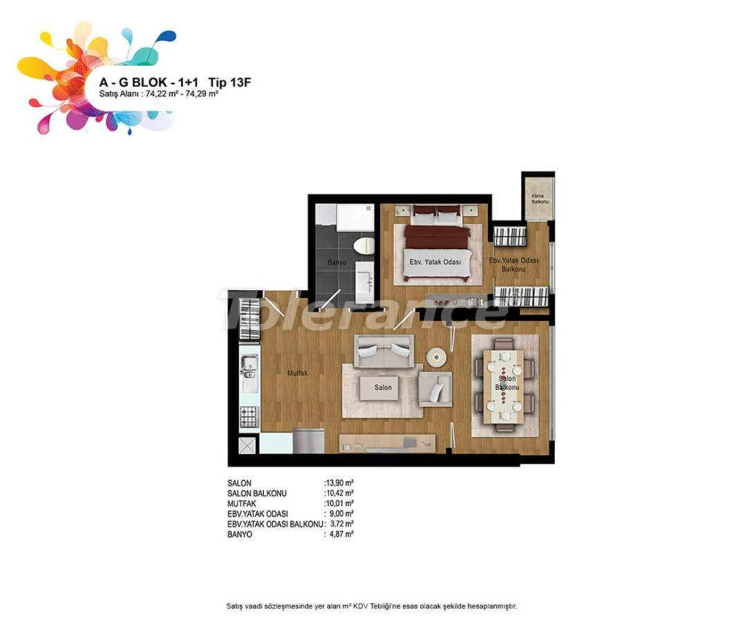New apartments in Bahcesehir, Istanbul with installments up to 50 months - 36161   Tolerance Homes