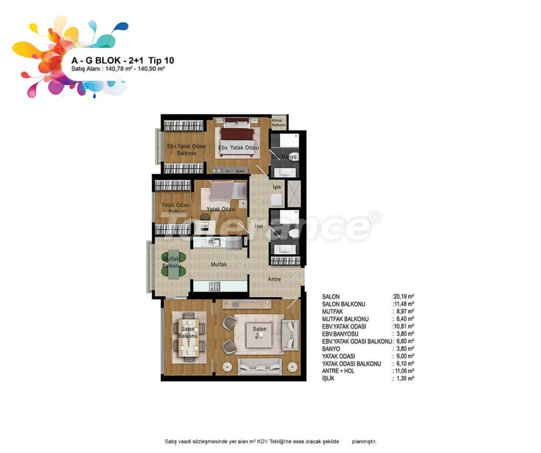 New apartments in Bahcesehir, Istanbul with installments up to 50 months - 36162   Tolerance Homes