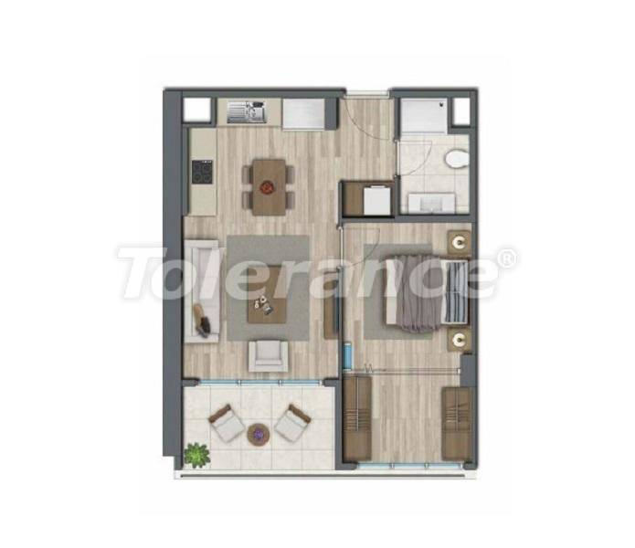 Apartments in Istanbul for investment, by installments from the developer - 27323 | Tolerance Homes