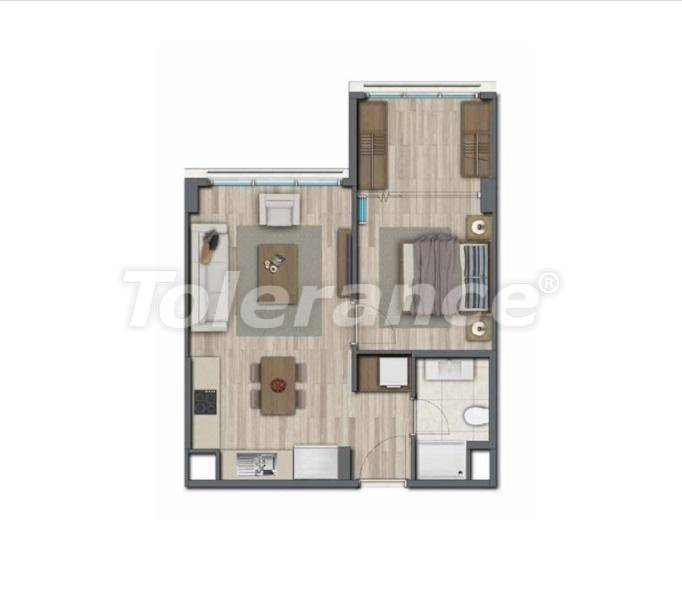 Apartments in Istanbul for investment, by installments from the developer - 27322   Tolerance Homes