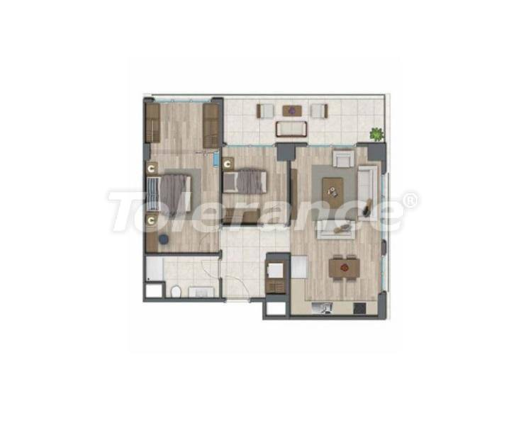 Apartments in Istanbul for investment, by installments from the developer - 27325   Tolerance Homes