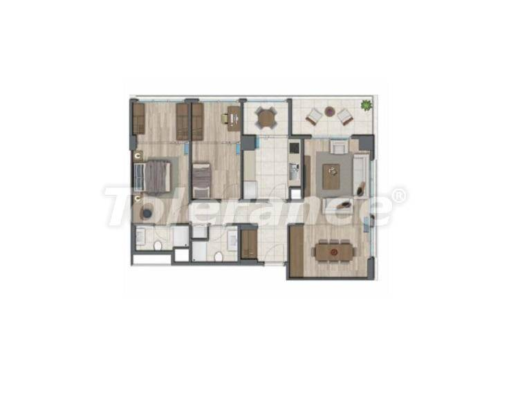 Apartments in Istanbul for investment, by installments from the developer - 27326   Tolerance Homes