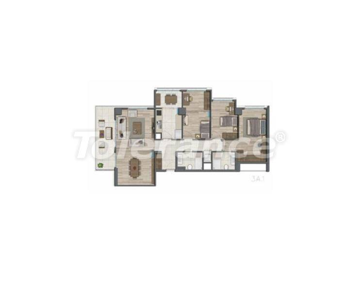 Apartments in Istanbul for investment, by installments from the developer - 27328   Tolerance Homes