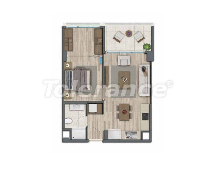 Apartments in Istanbul for investment, by installments from the developer - 27321   Tolerance Homes