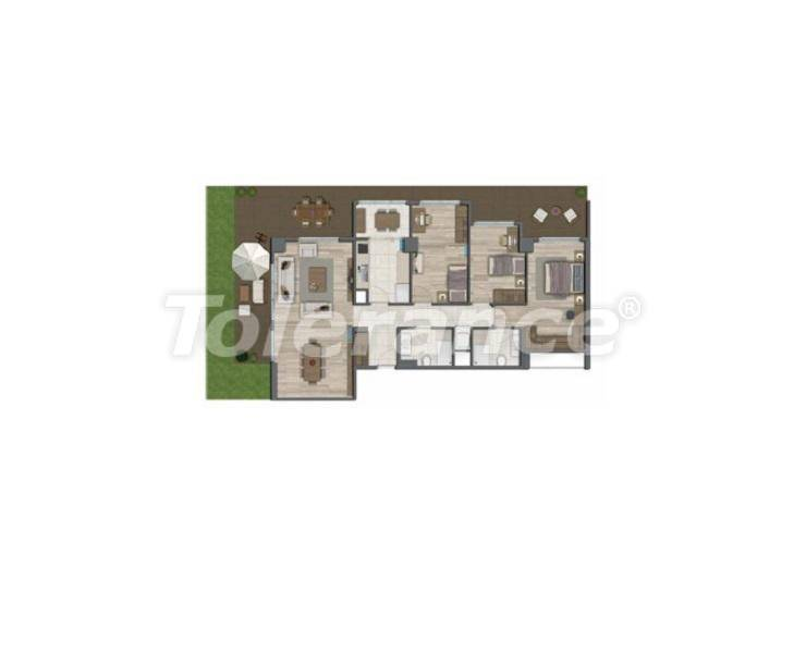 Apartments in Istanbul for investment, by installments from the developer - 27330   Tolerance Homes