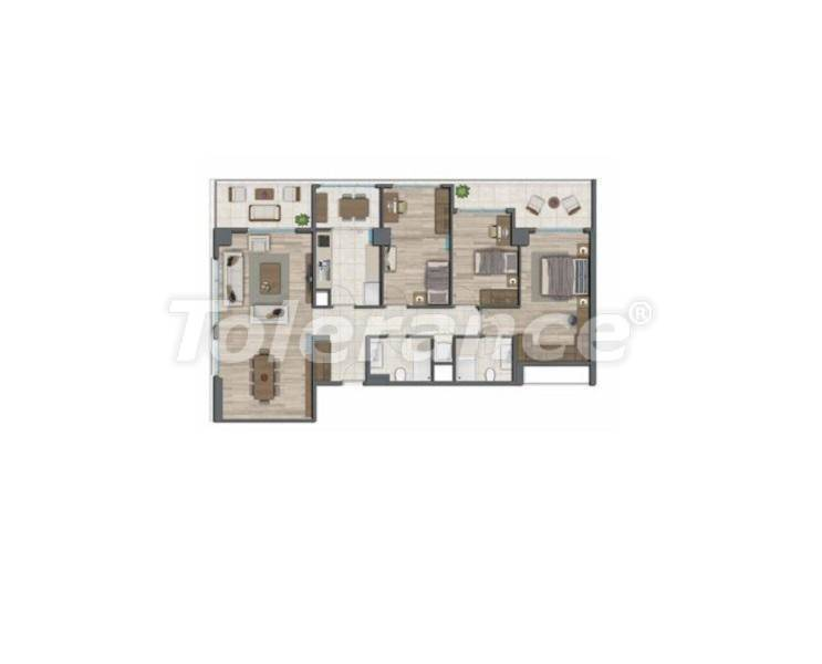 Apartments in Istanbul for investment, by installments from the developer - 27329   Tolerance Homes