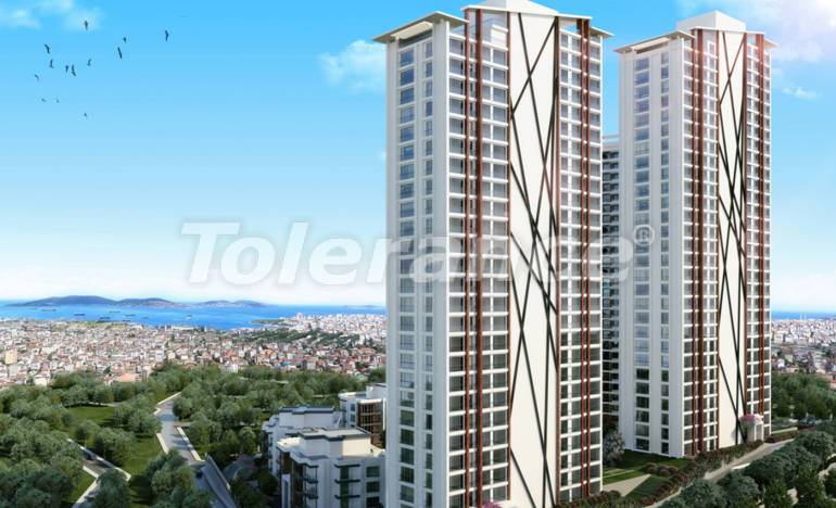 Apartments in Kartal, Istanbul in a project with a government guarantee - 26340 | Tolerance Homes