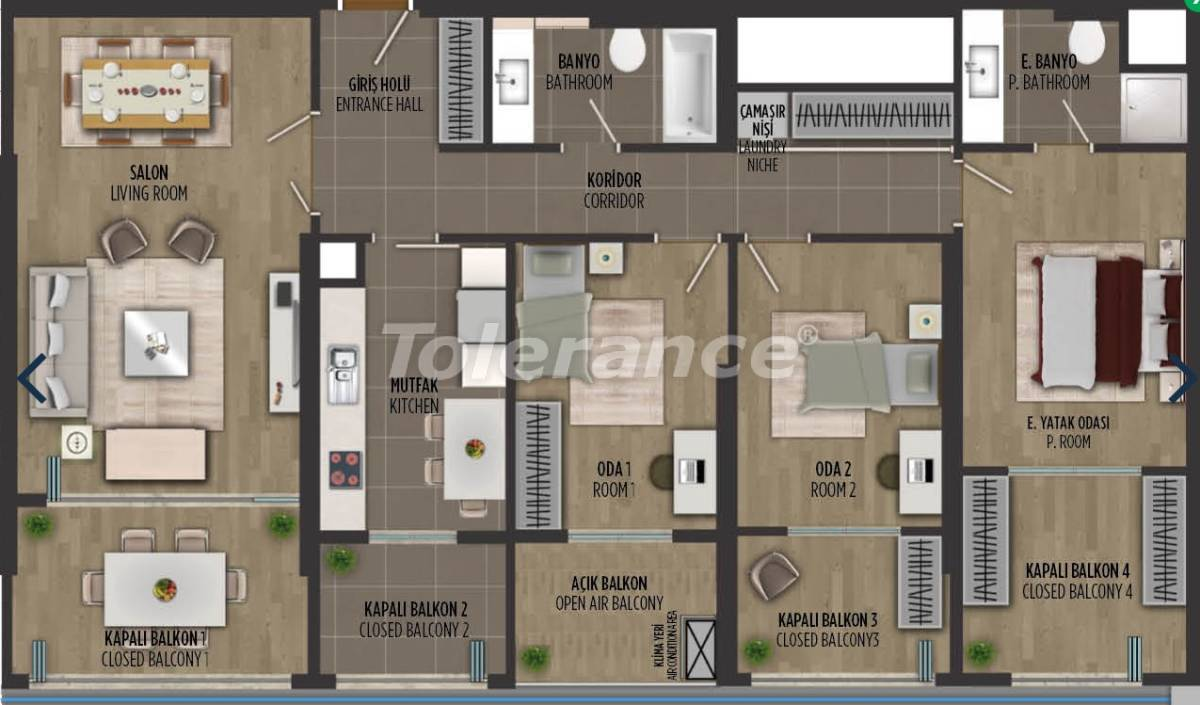 Apartments in Kartal, Istanbul in a project with a government guarantee - 36298 | Tolerance Homes