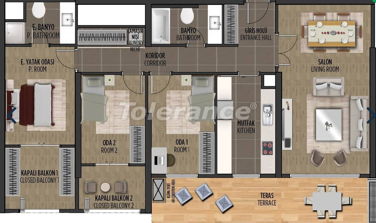 Apartments in Kartal, Istanbul in a project with a government guarantee - 36303 | Tolerance Homes