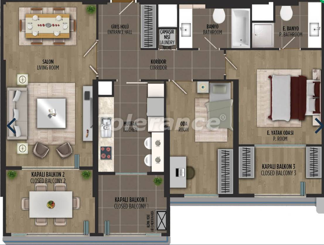 Apartments in Kartal, Istanbul in a project with a government guarantee - 36302 | Tolerance Homes