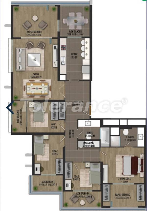 Apartments in Kartal, Istanbul in a project with a government guarantee - 36299 | Tolerance Homes