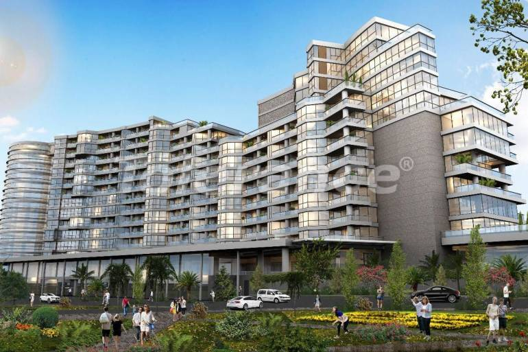 Luxury apartments in Istanbul in a complex managed by a famous hotel chain - 32393   Tolerance Homes