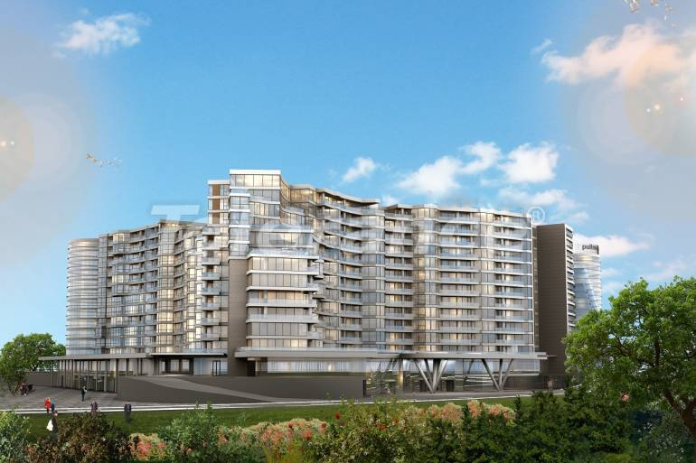 Luxury apartments in Istanbul in a complex managed by a famous hotel chain - 32394   Tolerance Homes