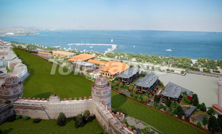 Modern complex with luxury apartments in Istanbul with sea views in installments from the developer - 26462 | Tolerance Homes