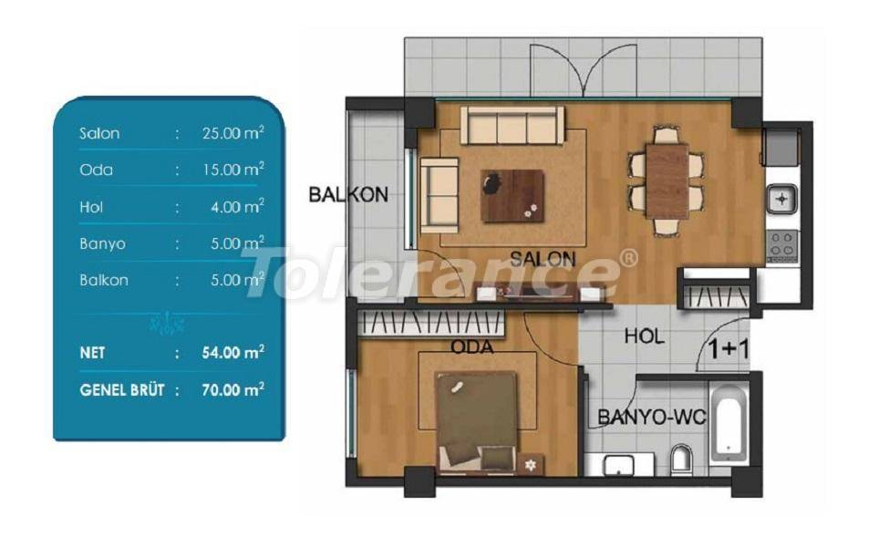 Spacious apartments in Beylikduzu, Istanbul with installments from the developer - 27294 | Tolerance Homes