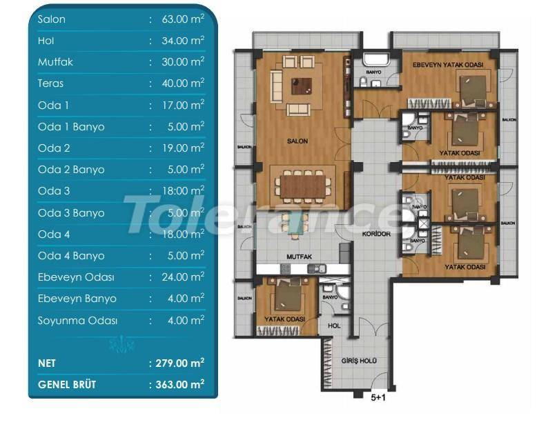 Spacious apartments in Beylikduzu, Istanbul with installments from the developer - 27298 | Tolerance Homes