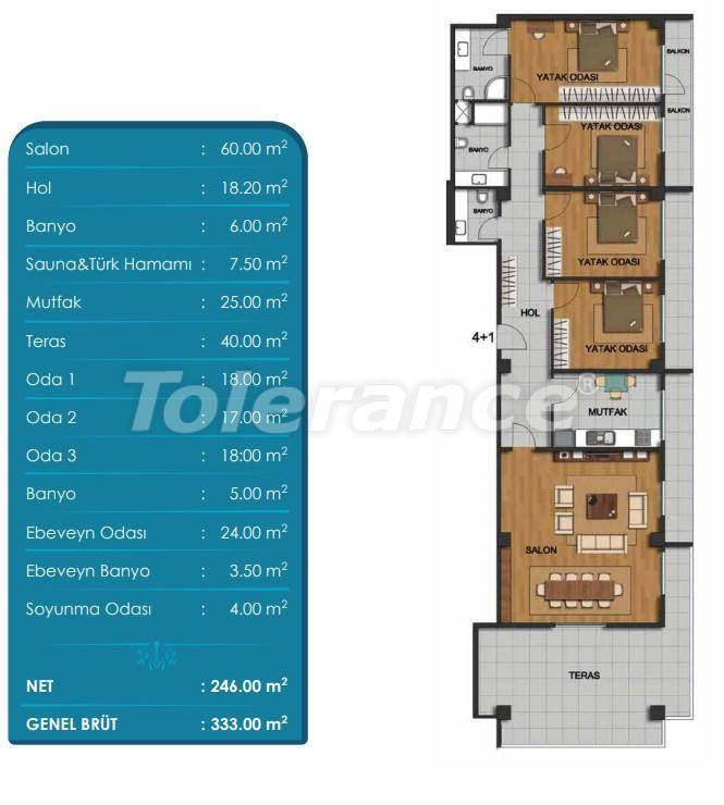 Spacious apartments in Beylikduzu, Istanbul with installments from the developer - 27297 | Tolerance Homes