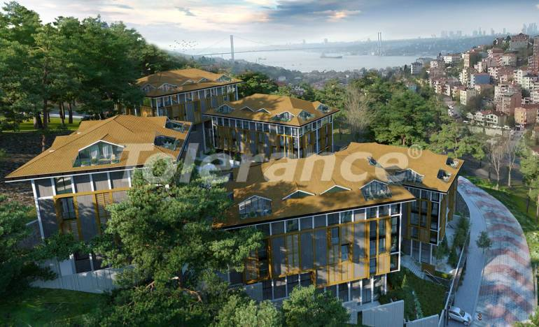 Luxurious apartments in Istanbul in a complex with rich infrastructure - 26491   Tolerance Homes