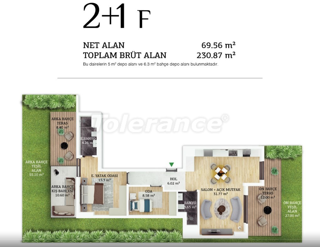 Modern apartments in the center of Istanbul by  installments from the developer - 38963 | Tolerance Homes
