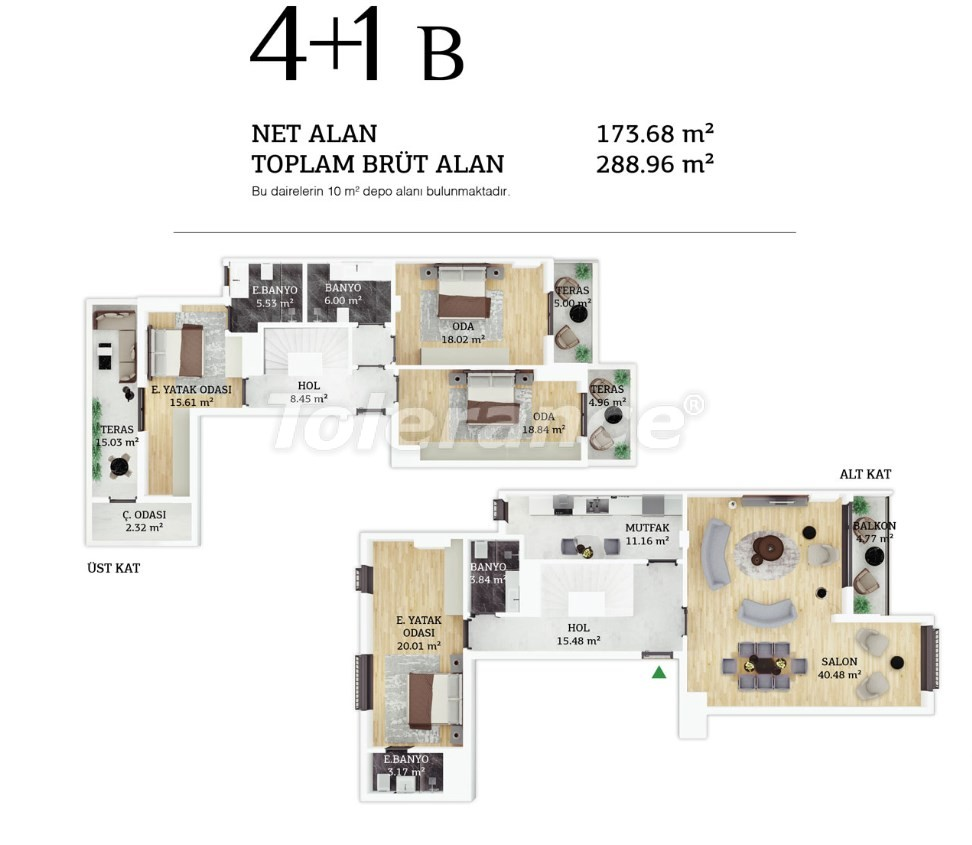 Modern apartments in the center of Istanbul by  installments from the developer - 38966 | Tolerance Homes