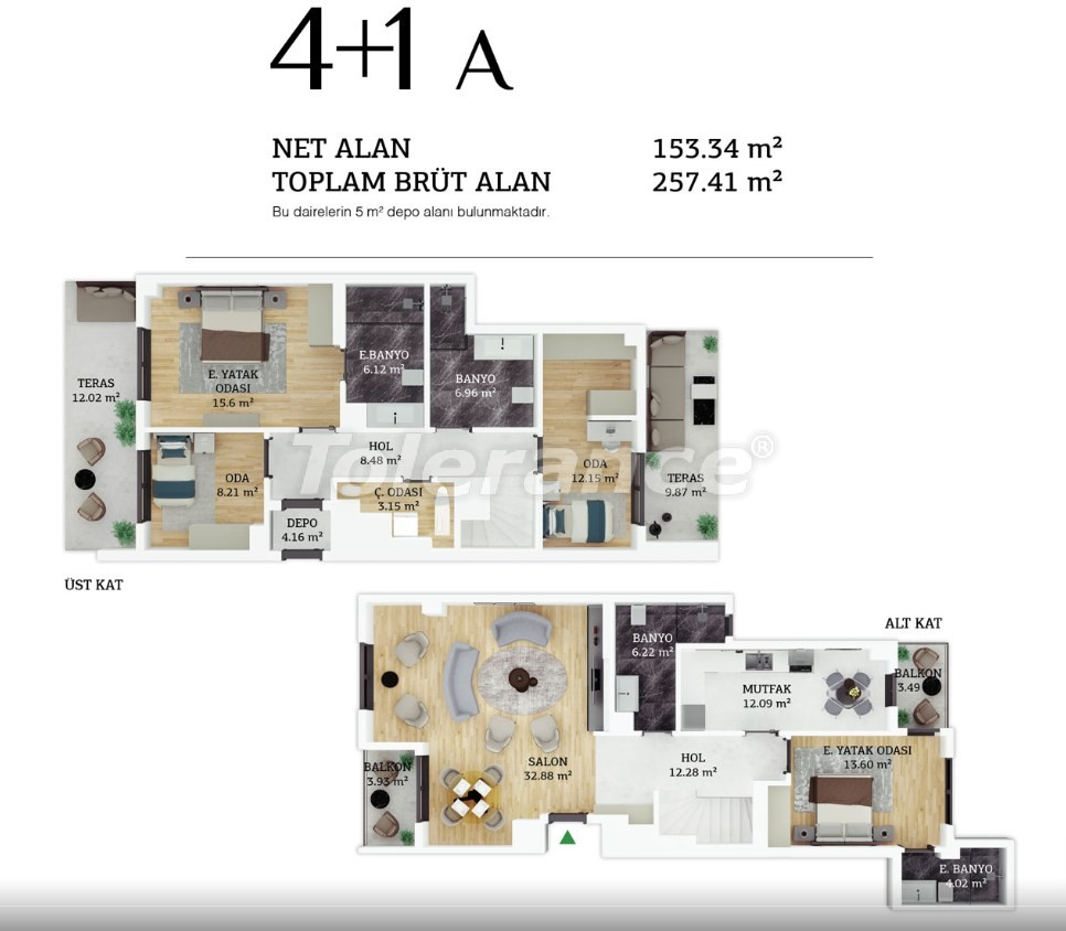 Modern apartments in the center of Istanbul by installments from the developer - 38965 | Tolerance Homes