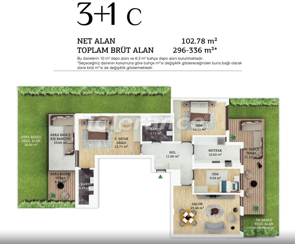 Modern apartments in the center of Istanbul by installments from the developer - 38967 | Tolerance Homes