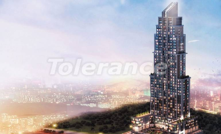 Investment project in Istanbul: apartments in modern complex, by installments from the develope - 26530 | Tolerance Homes