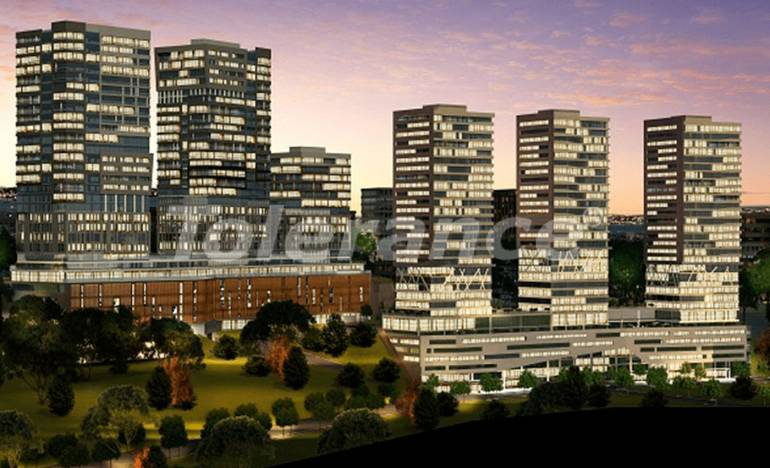 New apartments in Istanbul in a complex with rich infrastructure from the developer - 26540 | Tolerance Homes