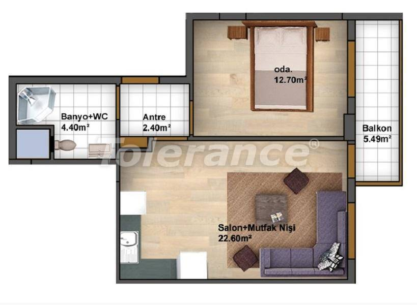 Apartments in Kucukcekmece, Istanbul profitable for investment from the developer - 27087   Tolerance Homes
