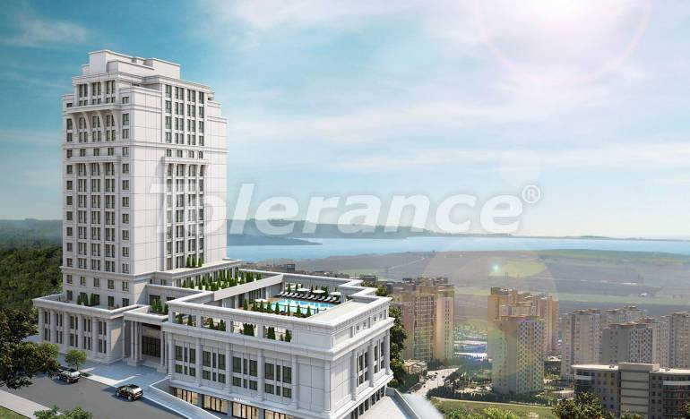 Luxury apartments in Istanbul by installments from the developer in a hotel-type complex with a rental guarantee - 26564 | Tolerance Homes