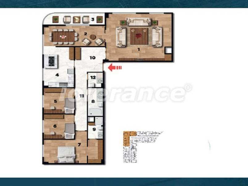 Profitable investment apartments in the historical center of Istanbul - 26728 | Tolerance Homes