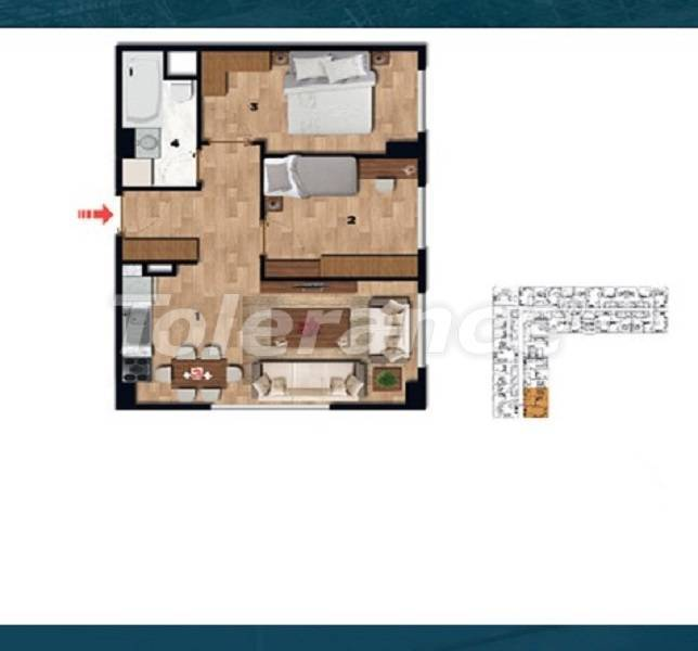 Profitable investment apartments in the historical center of Istanbul - 26724 | Tolerance Homes