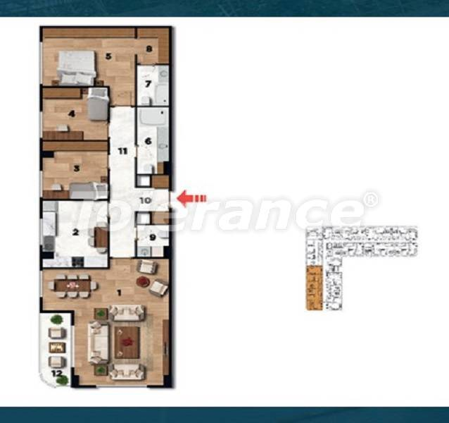 Profitable investment apartments in the historical center of Istanbul - 26726 | Tolerance Homes
