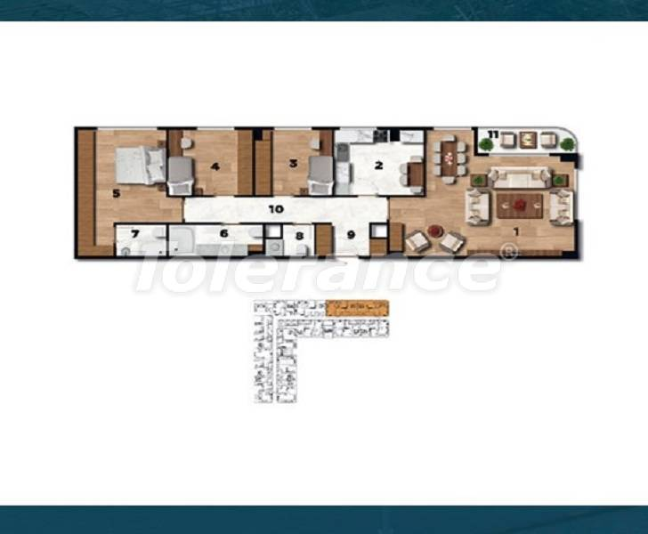 Profitable investment apartments in the historical center of Istanbul - 26727 | Tolerance Homes