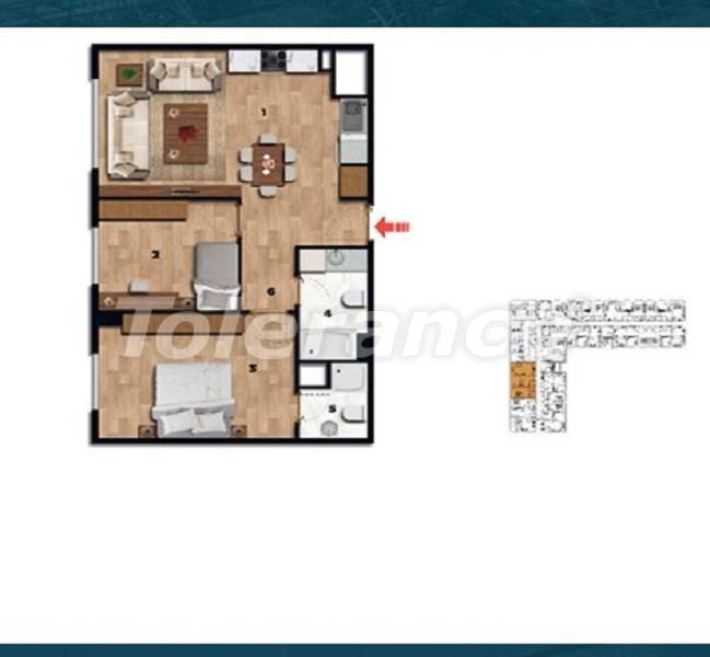 Profitable investment apartments in the historical center of Istanbul - 26725 | Tolerance Homes
