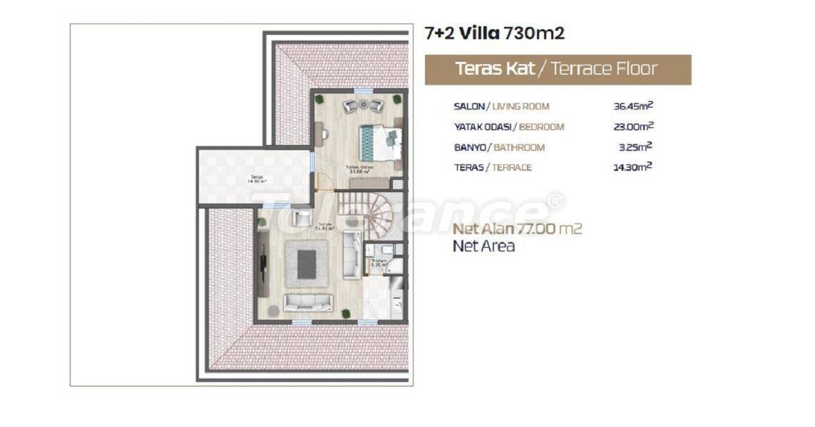 Luxury villas in Istanbul with a private pool from the developer - 26658 | Tolerance Homes