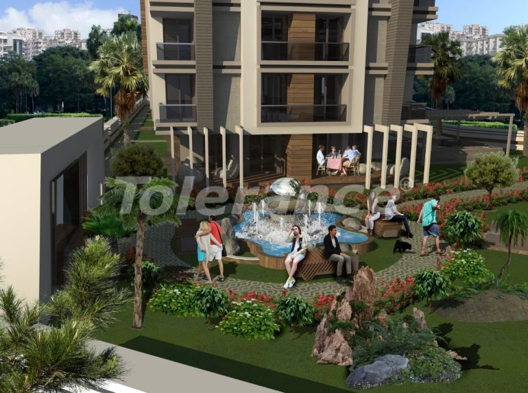 Spacious apartments in Hurma, Konyaalti in a luxury complex from the reliable developer - 32290   Tolerance Homes