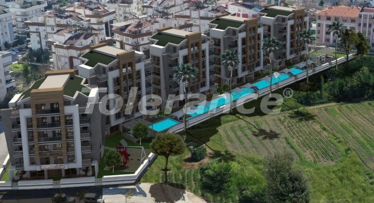 Spacious apartments in Hurma, Konyaalti in a luxury complex from the reliable developer - 32289   Tolerance Homes