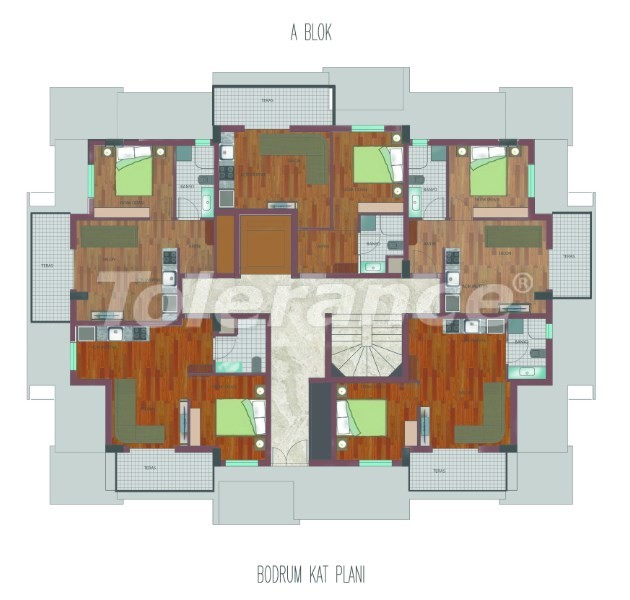 Spacious apartments in Hurma, Konyaalti in a luxury complex from the reliable developer - 26752   Tolerance Homes