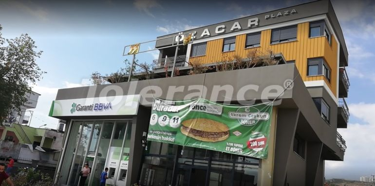 """Commercial premises in Antalya with a tenant bank """"Garanti"""" - 26764 