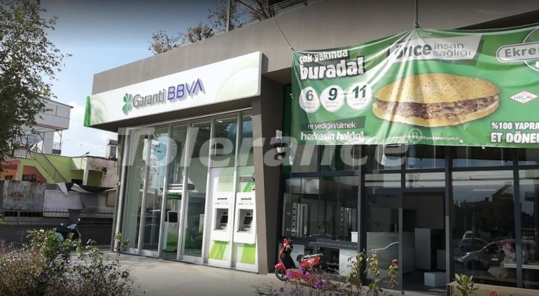 """Commercial premises in Antalya with a tenant bank """"Garanti"""" - 26765 