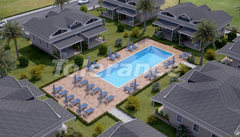 Two-bedroom apartments in Arslanbucak, Kemer in a complex with a swimming pool - 26857 | Tolerance Homes